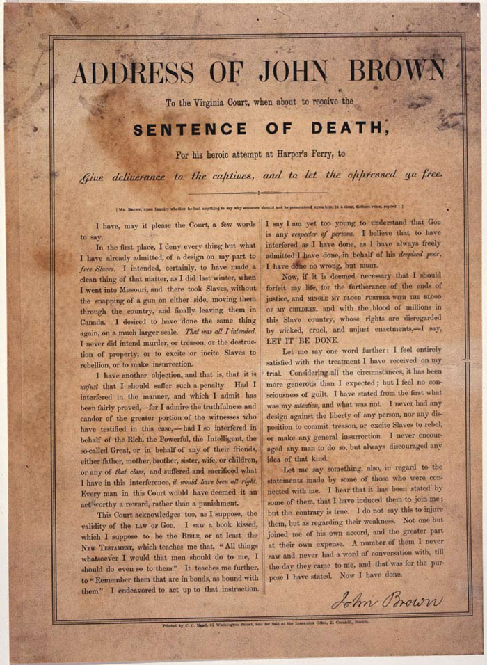 essay on john brown abolitionist Essay john brown s harper s ferry raid on the and 90,000 john brown's harper's ferry raid on the essay john brown was an abolitionist.
