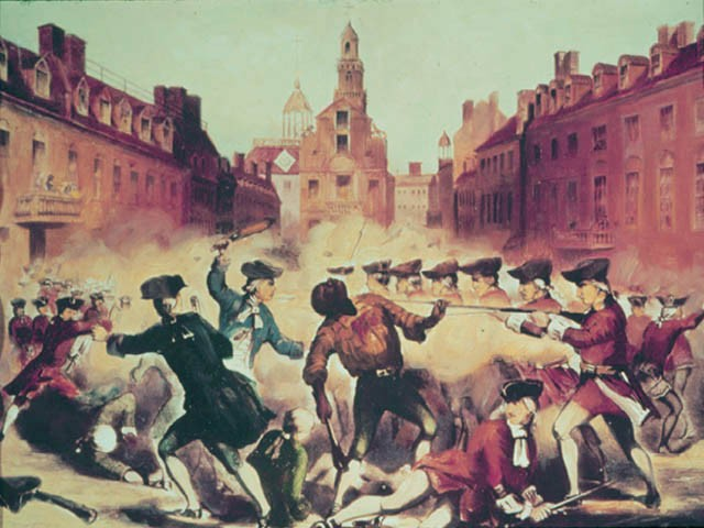 """an analysis of the boston massacre and propaganda The event was popularized after paul revere made an engraving entitled """"the bloody massacre in king street"""" he used it as propaganda to capitalize on colonial resentment of the british other historical accounts and the trial itself portray a different depiction of the events of the nine british regulars charged during the."""