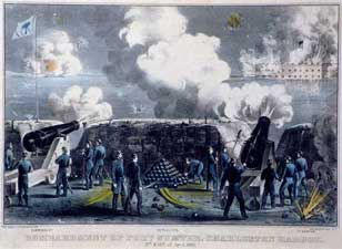Display textbook attack on fort sumter the opening engagement of the american civil war publicscrutiny Gallery