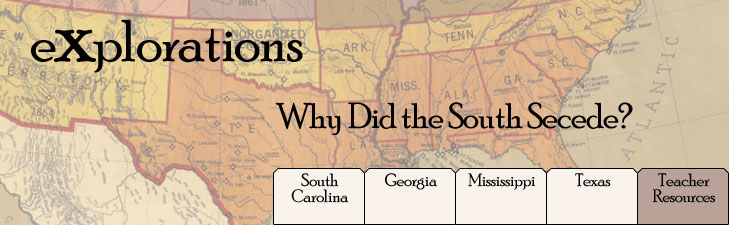 Digital history banner for why did the south secede publicscrutiny Gallery