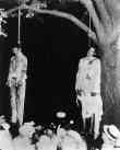Two African American Men. Lynched, Hanging From Tree, Marion, Indiana