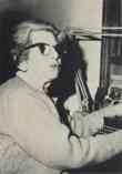 Anzia Yezierska at a Typewriter