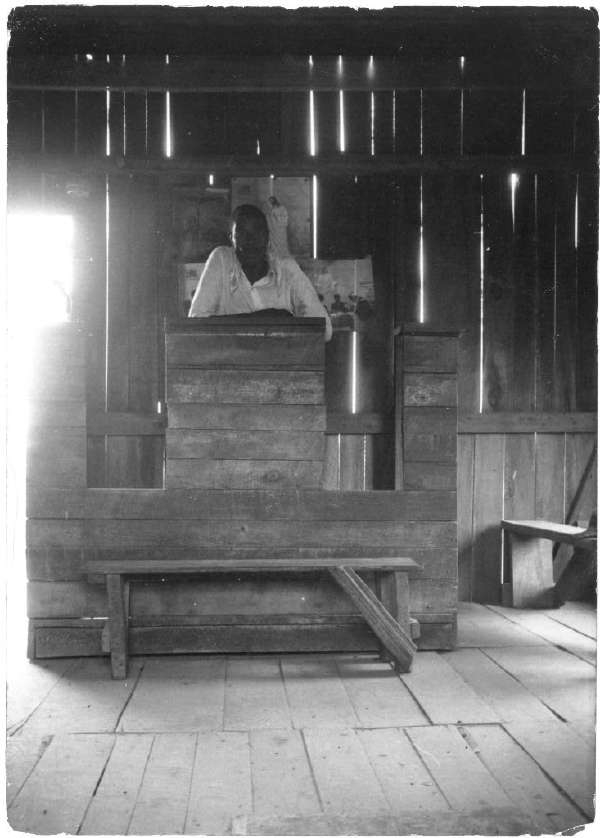 Baptist Preacher, Alma Plantation, False River, Louisiana