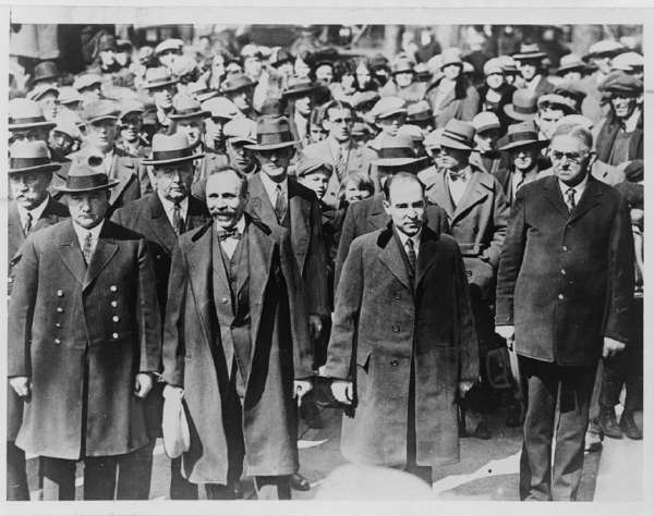 Bartolomeo Vanzetti and Nicola Sacco, Manacled Together