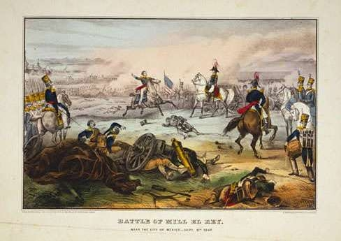 Battle of Mill El Rey- Near the City of Mexico- Sept. 8th 1847