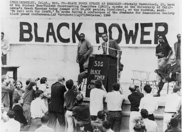 Black Power Speaks at Berkeley