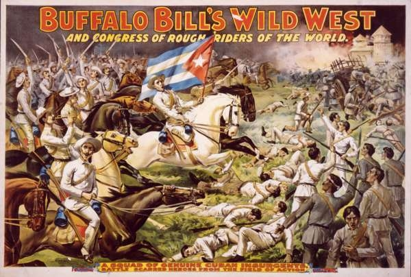 A Poster of Buffalo Bill's Wild West and Congress