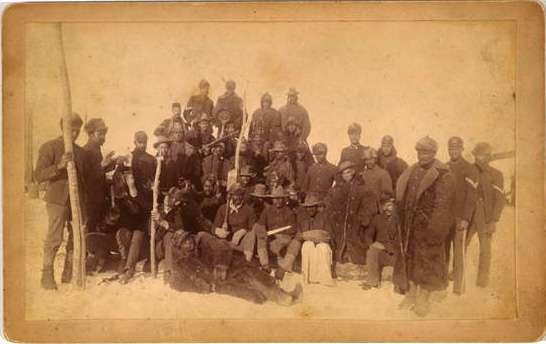 Buffalo Soldiers of the 25th Infantry, Ft. Keogh, Montana