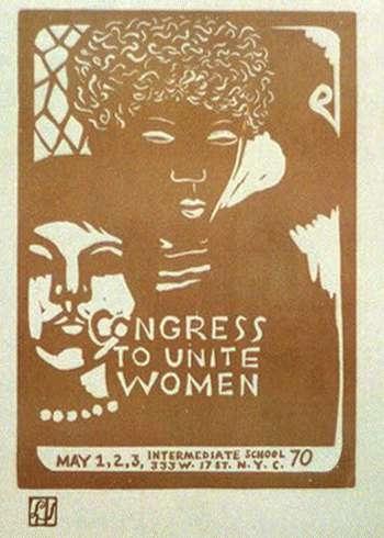 Congress To Unite Women, May 1,2,3,'70: Intermediate School, 333 W. 17 St., N.Y.C.
