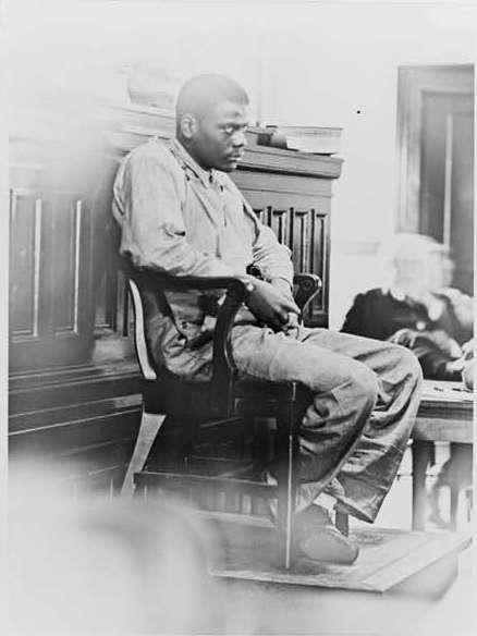 Ozzie Powell, Defendant in the Scottsboro Case, Full Length Portrait