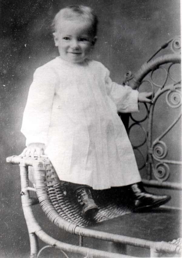 Faulkner As Baby