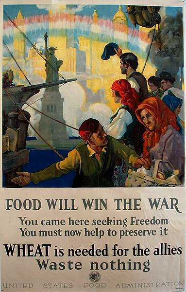 WW I Posters: Food Will Win the War (English)