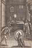 Frontispiece, <I>Saducismus Triumphatus: Or Full and Plain Evidence Concerning Witches and Apparitions</I>