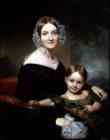 Georgianna Buckham and Her Mother