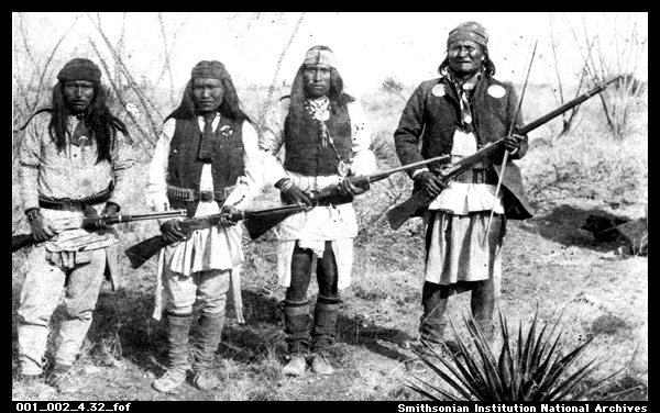 Geronimo and Apache Fighters