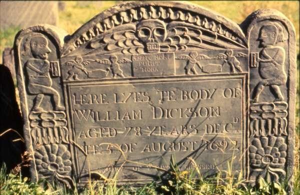 Gravestone of William Dickson