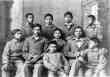 Group of Omaha Boys in Cadet Uniforms, Carlisle Indian School, Pennsylvania