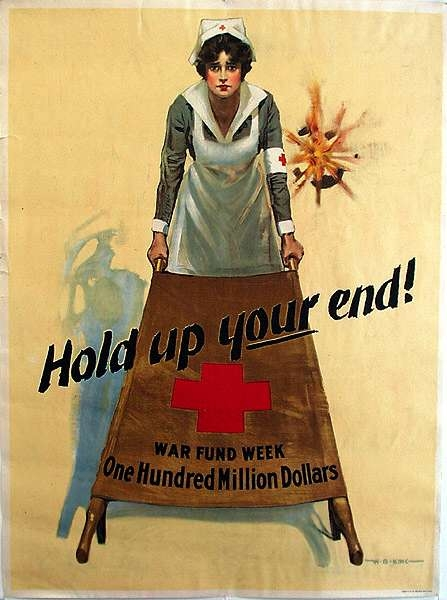 WW I Posters: Hold Up Your End
