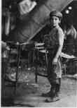 """""""Carrying-in"""" boy in Alexandria Glass Factory, Alexandria, Va."""