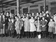 Immigrant Children, Ellis Island, New York