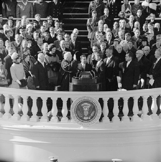 Inauguration of John Fitzgerald Kennedy, January 20, 1961