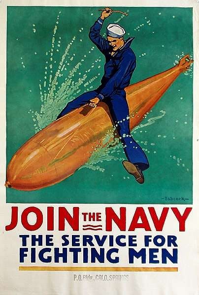 WW I Posters: Join the Navy