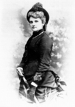 Kate Chopin, With Umbrella