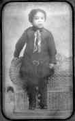 Langston Hughes at Age 3