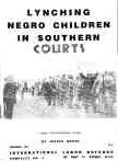 Lynching Negro Children in Southern Courts: (The Scottsboro Case)