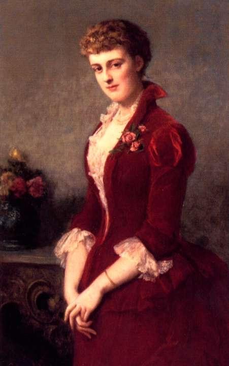Edith Jones At Age Nineteen