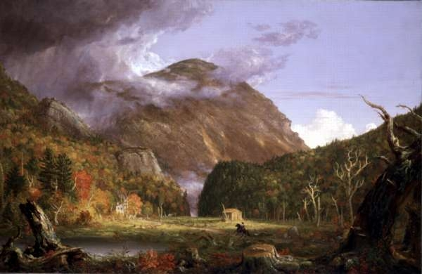 A View of the Mountain Pass, Called the Notch of the White Mountains (Crawford Notch)