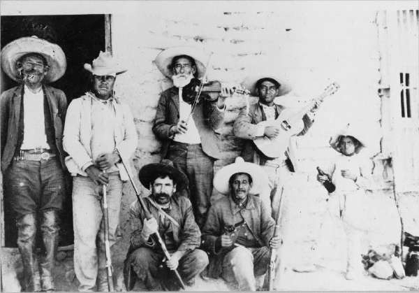 Music in Mexican Insurrecto Camp