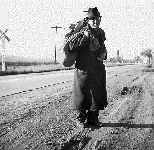 Napa Valley, Ca. More Than Twenty-Five Years a Bindle-Stiff. Walks From the Mines to the Lumber Camps to the Farms