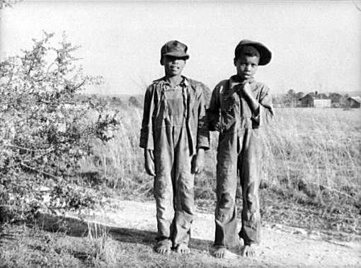 Negro Boys at Gee's Bend, Alabama