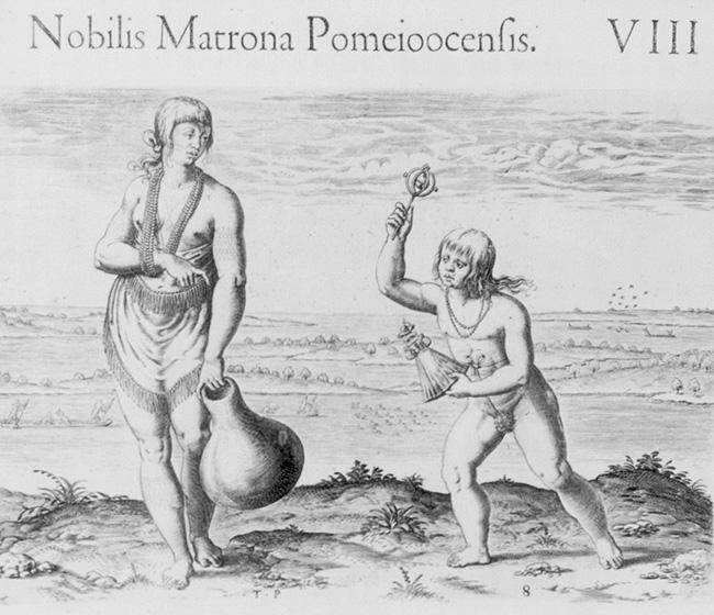 A Noblewoman of Pomeiock
