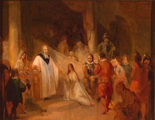 Baptism of Pocahontas, 1614