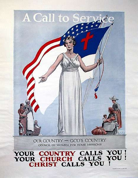 WW I Posters: Our Country--God's Country