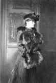 Photo Portrait E.W. [Edith Wharton] with Fur Collar and Muff