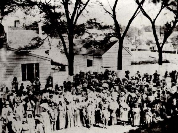 Slaves, plantation of James Joyner Smith, Beaufort, South Carolina