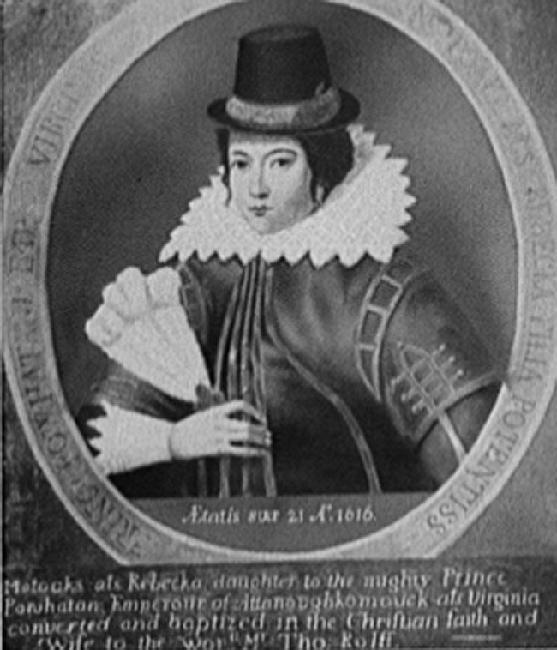 Pocahontas (Reproduction of 1616 Original)