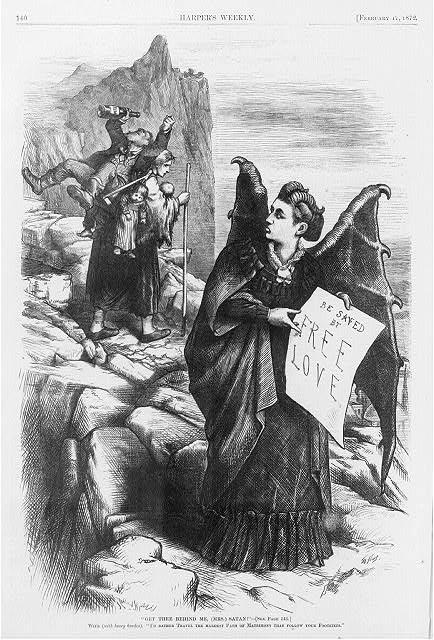 Get thee Behind Me, (Mrs.) Satan!