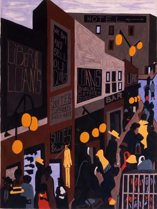 Rampart Street (AKA Harlem Street)