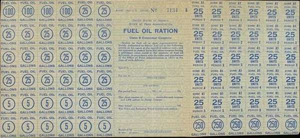 Fuel Oil Ration Class 5A Consumer Coupons