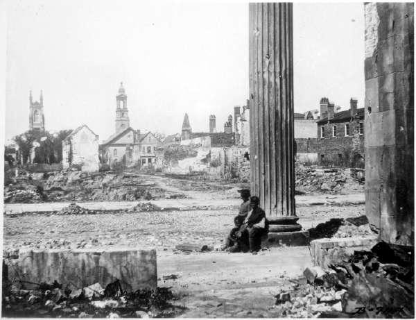 Ruins in Charleston, S.C.