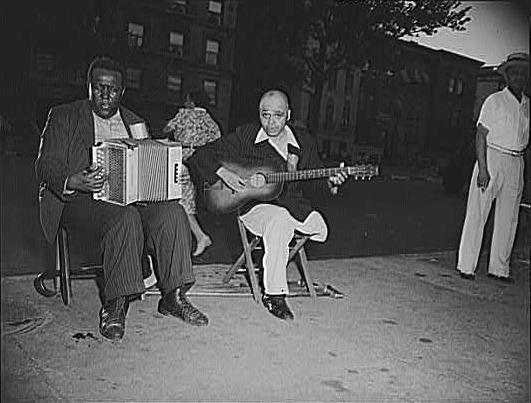 Street Musicians In Harlem