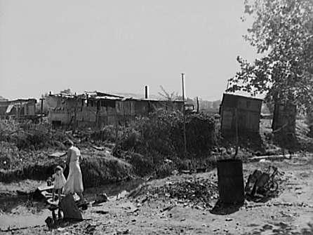 Squatter Camp in  California