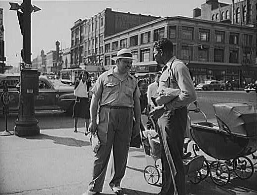 Street Scene In Harlem