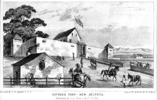 Sutter's Fort--New Helvetia
