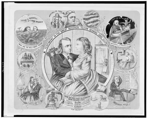 Testimony in the Great Beecher-Tilton Scandal Case Illustrated
