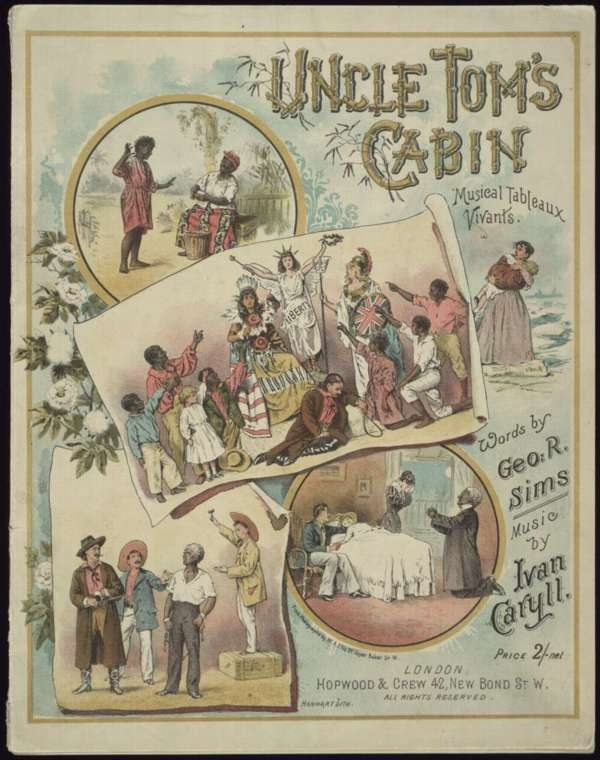 Uncle Tom's Cabin, Musical Tableaux Vivants, Performed By the Moore & Burgess Minstrels